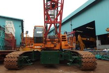 USED KOBELCO CKE1800-1F, 180 TON CRAWLER CRANE FOR SALE