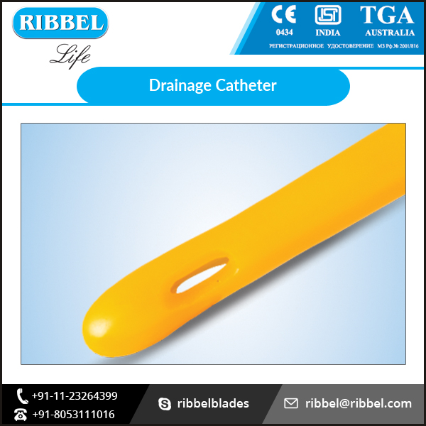 Medical Consumable Drainage Foley Catheter Available from Trusted Supplier