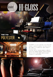 TAI-YO POLYESTER HI-GLOSS Sealer for Building&Furniture Decorative Coating Paint