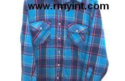 Pakistani RMY 414 top quality flannel shirts for men