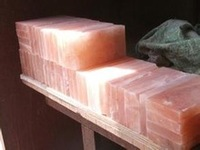 Himalayan Cooking Slabs/Natural Rock Salt Tiles, Bricks & Blocks/Pink/Red/White/Crystal Rock Salt Tiles/Plates/Salt Rooms/Caves