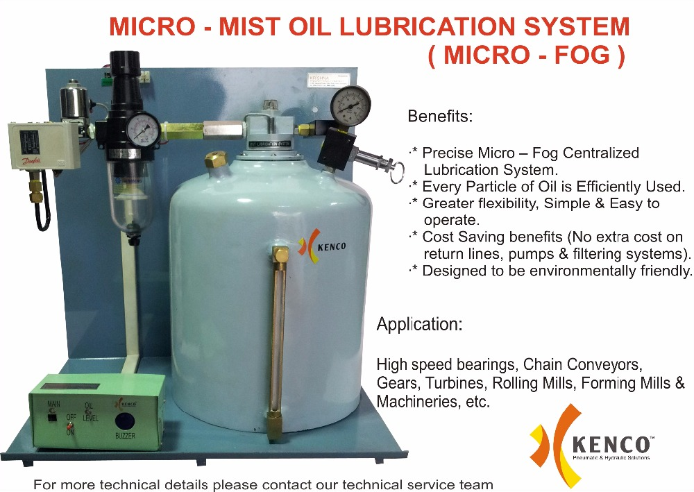 MICRO MIST OIL LUBRICATION SYSTEM