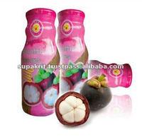 Thai Ao Chi Brand 100% Mangosteen Juice 200 ml per bottle