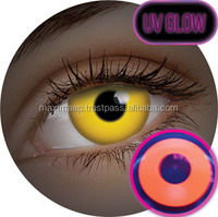 CONTACT LENS Flash Party UV Orange