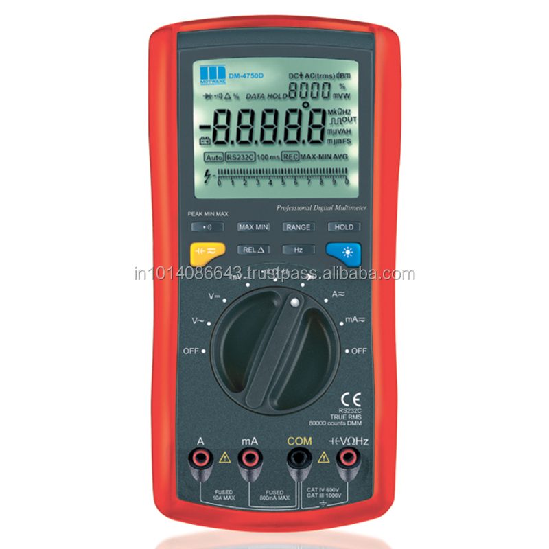 DM4750A- 4-7/6, 80000 counts professional digital multimeter