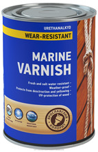 Alkyd Glossy Durable Wood Varnish Boat Paint