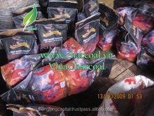 Mangrove charcoal for Hookah shisha: Low ash, High heat and high carbon content