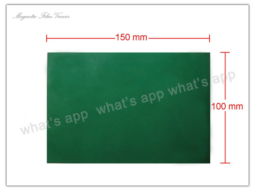 Magnetic Field Viewer Green Film