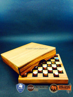 New!!!Wooden puzzle Chess game Othello