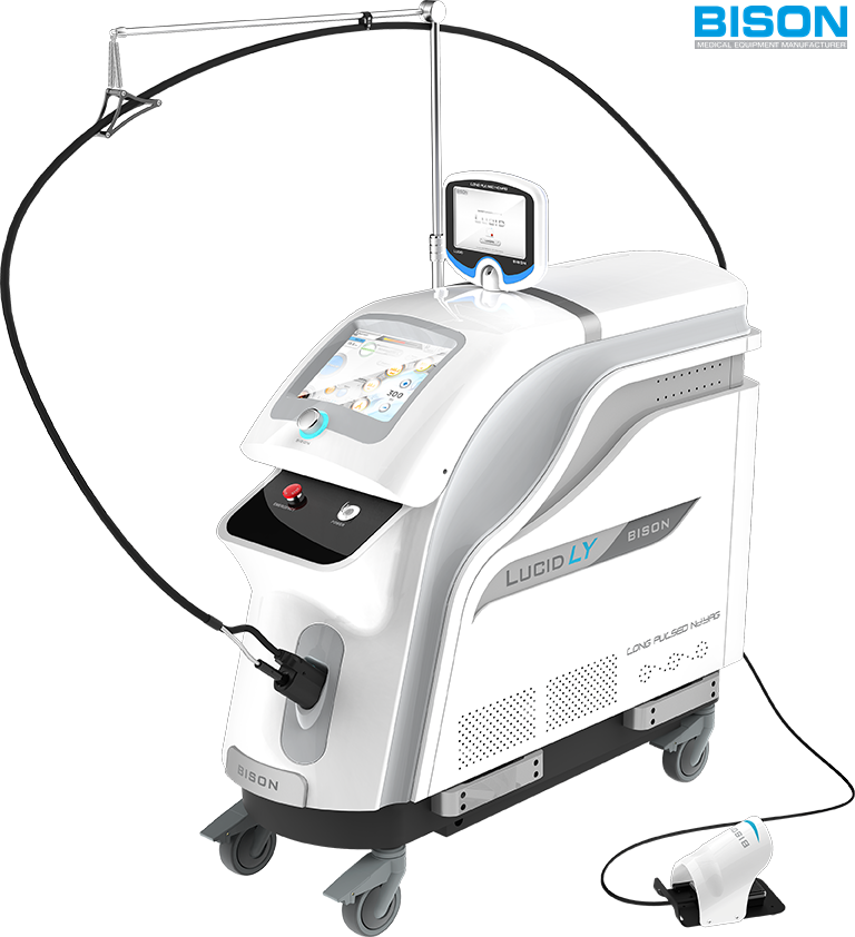 LUCID LY (1064nm Long Pulsed Nd:YAG Laser) / Dual display + Cooling spray + Auto-calibration