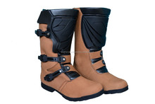 Fashion Leather Motorbike Racing Boots S&C-406