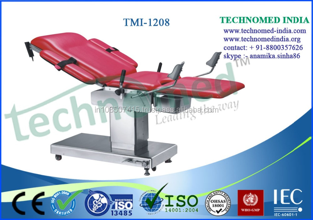 Electric Hydraulic Gynecological Chair / Hospital obstetric examination table