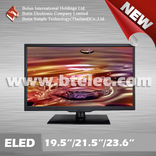 New product color tv 23.6 inch led tv thailand price