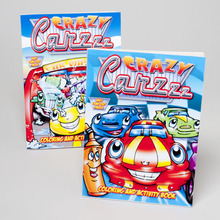 COLORING BOOK CRAZY CARZZ 96 PG ACTIVITY IN 24 CT PDQ #2125