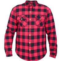 Customized Flannel Kevlar Motorcycle Shirt , Motorcycle Clothing ,Leather Motorcycle Jacket
