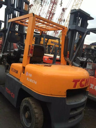 Used diesel forklift TCM 5ton, secondhand 5ton forklift FD50, hot sale in Japan!