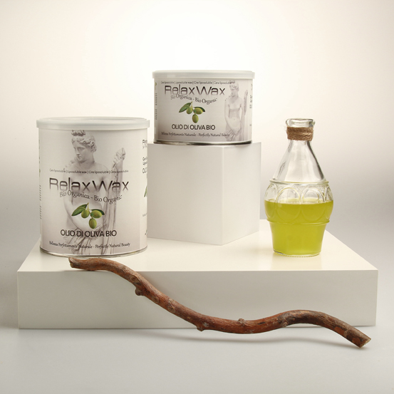 Liposoluble depilatory wax Organic Olive Oil by Ciesse s.r.l. (Italy)