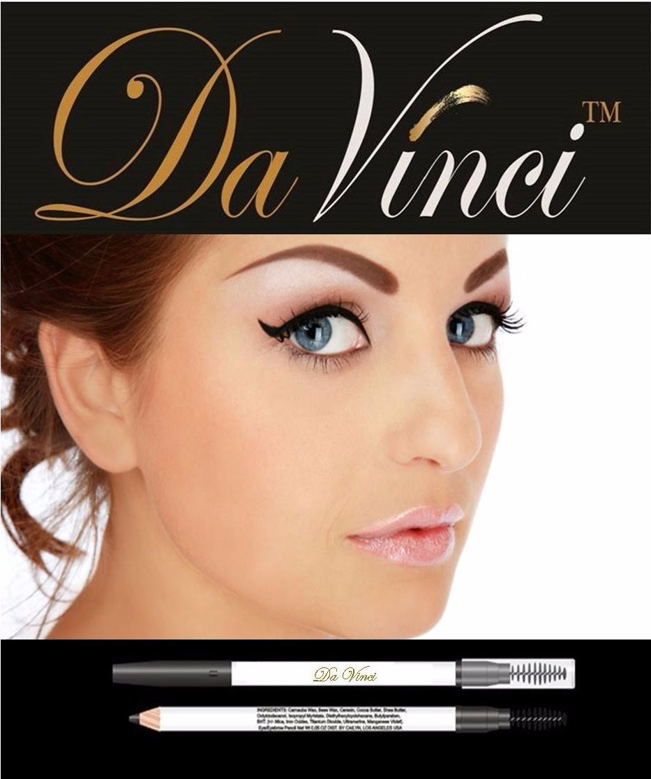 USA Laboratory Cosmetics Manufacture of Eyebrow Pencil Da VInci Cosmetics