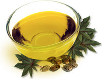 Castor oil and sebacic acid