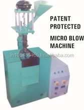 small plastic blow moulding machine