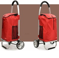 MOVABLE FOLDING SHOPPING TROLLEY BAG(2 WHEELS)