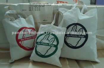 Cotton Fabric Shopping Bag for Family Use