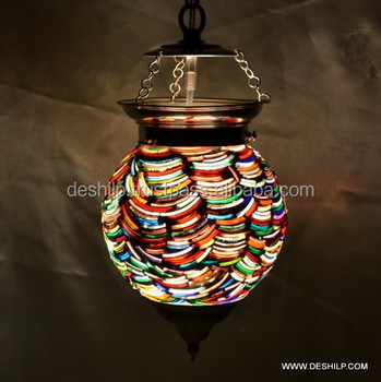 Edison Mini Glass Pendant Hanging Lamp Modern Light Glass Pendant Hanging Lamp Chandelier Lighting