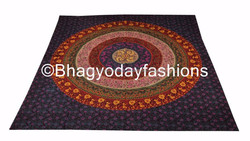 Wholesale Indian Tapestry Tapestries,Cotton Throw Hippy Well Decor,Bohemian Bedspread Mandala Bed Decor Bedsheet