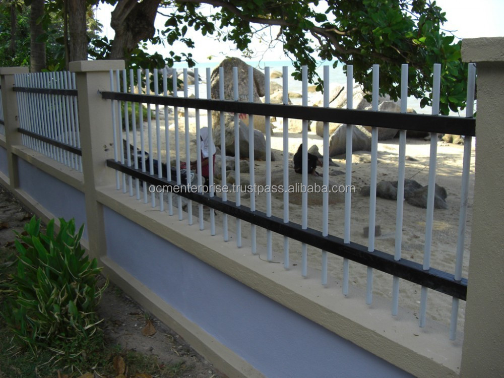 Chalet Stairs FRP Handrail and Fencing, Composite Handrail and Fencing, Fiberglass Handrail and Fencing.