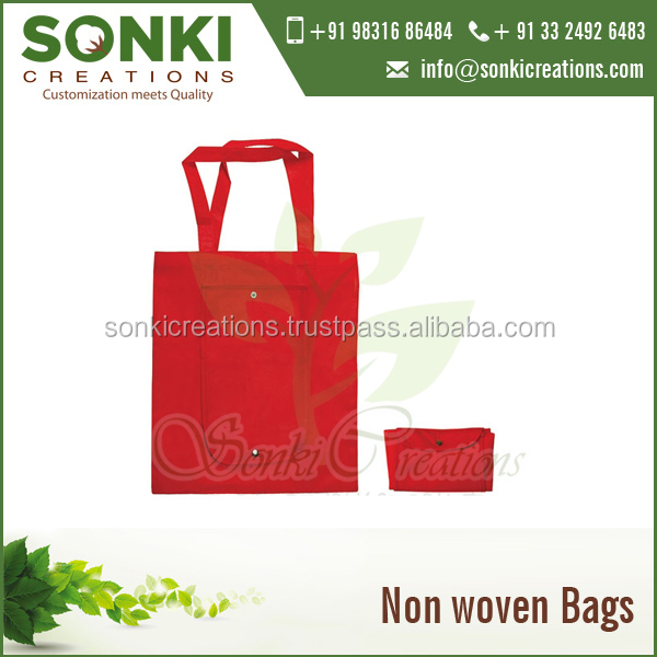 Foldable Tote Non Woven Bad for Shopping