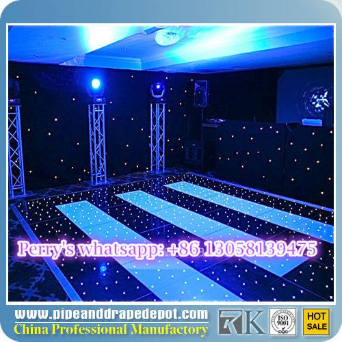 RK white and black swimming pool dance floor vinyl dance floor cover for sale