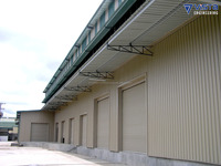 pre fabricated pre engineered steel auditorium warehouse