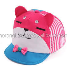 Cat Look Designed Kids Baseball Cap/Kid baseball Cap Children Summer Cap Washed