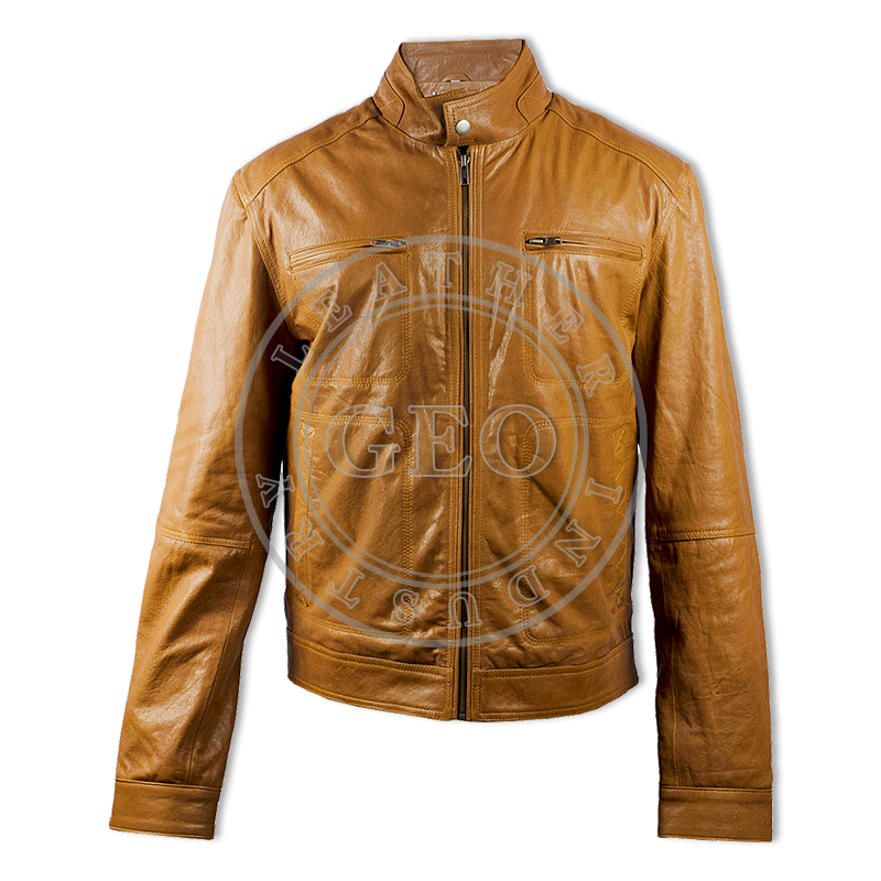 Winter Men Stylish Colorful Fashion Leather Jackets