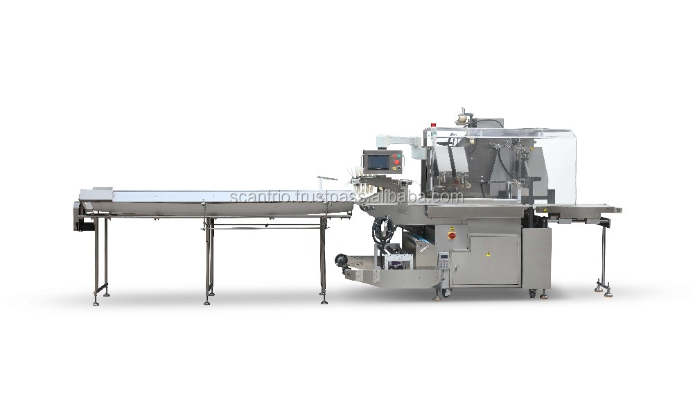 carota vegetable flow packing machine