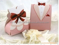 Pink Tuxedo and Dress Boxes (pair)