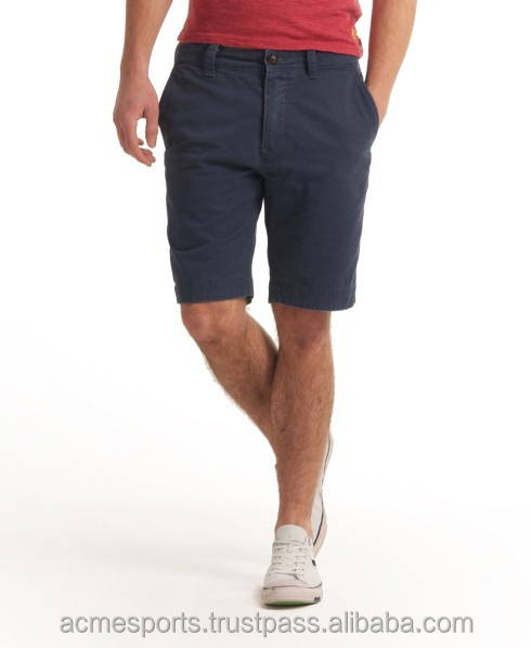 Chino Shorts - High Quality Men's Plain Cotton Chino Board Casual Shorts