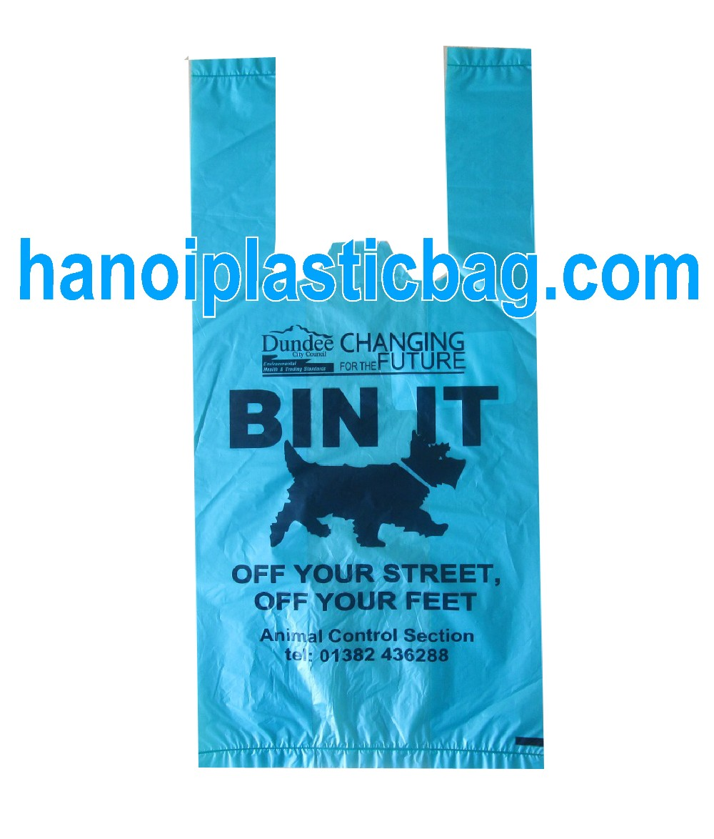 Customized Logo Printed T Shirt Plastic Shopping Bag - Competitive Price - Made in Vietnam
