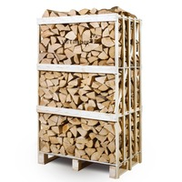 Super dry ash firewood Lithuania, moisture below 18%