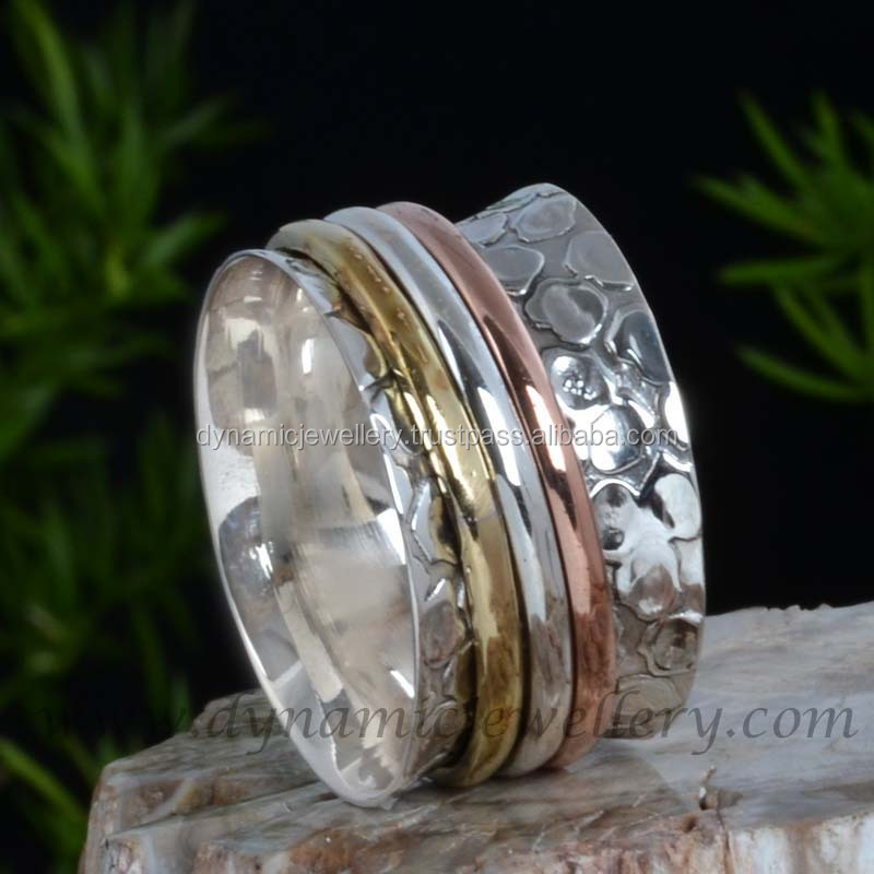Spinner Rings Wholesale Silver Jewelry
