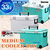 Cooler box large 33L(34.9Qt) keep cool chill ice warm Japan made outdoor fishing BBQ sports HOLIDAY LAND COOLER CBX 33L LBL