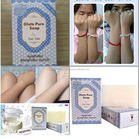70 g. GLUTA PURE SOAP GLUTATHIONE WHITENING SKIN BODY BEAUTY,SOAP THAILAND