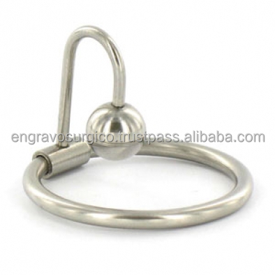 stainless steel sperm stopper with glans ring penis plug penis ring urethra plug penis plug