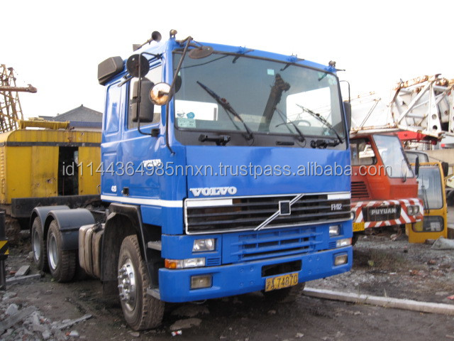used Volvo truck FH12 Korea tractor truck good performance hot sale in Shanghai