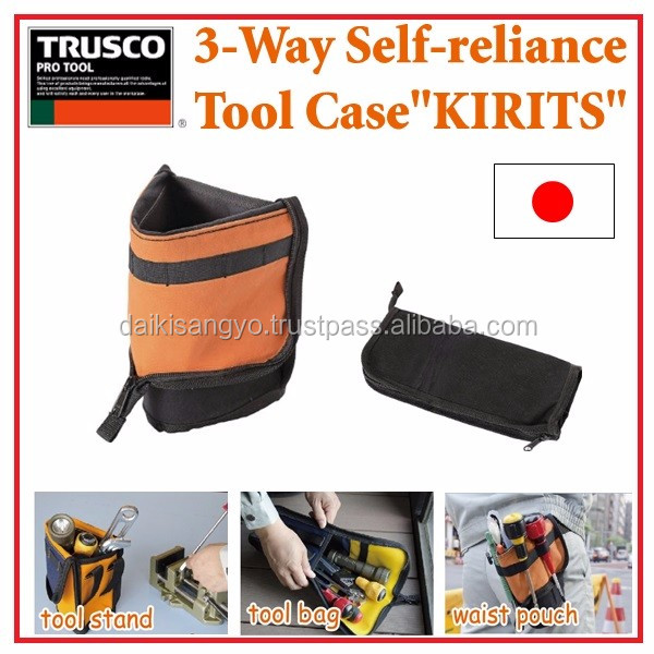 High-capacity and Multi-functional hard plastic tool case TRUSCO 3 way Tool case for industrial use