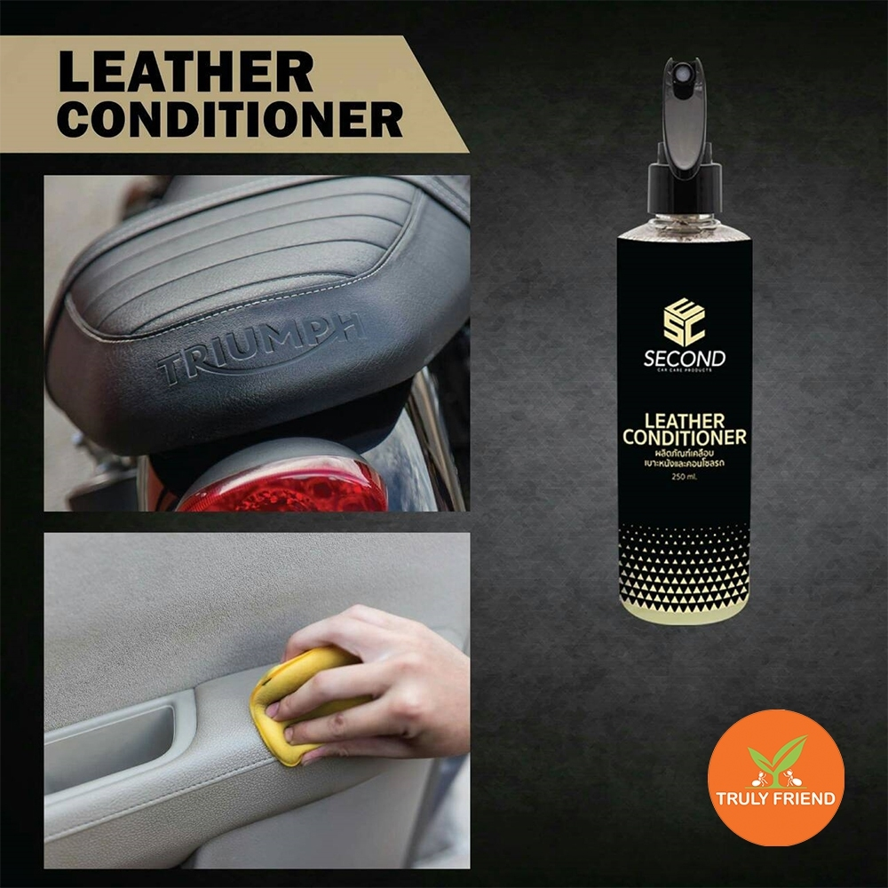 Leather Conditioner Car care product for clean leather and It is magic spray help to maintain restore leather