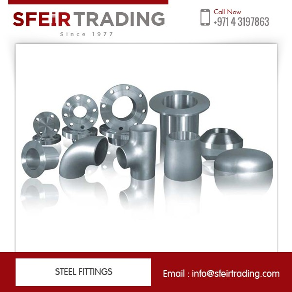 API 5L Standard Stainless Steel Pipe Fittings / Elbow / Tee / Reducer / Cap