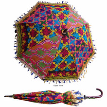 Traditional Indian Designer Handmade Sun Umbrella Parasol