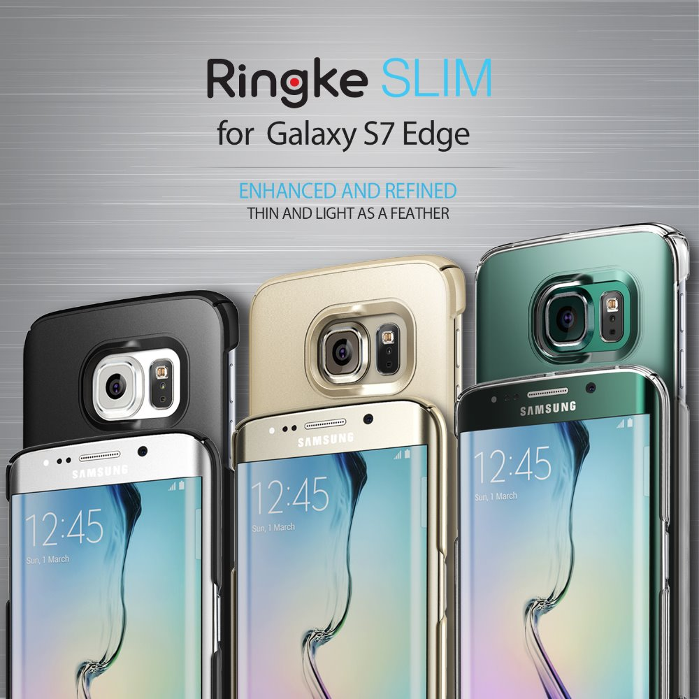 [Ringke] Ringke Slim Smart Phone Case For Galaxy S7 Edge (will be ready by 2nd Week of March)