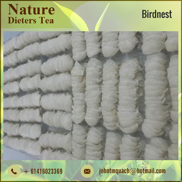 100% Pure White Colour Birdnest Cleaned
